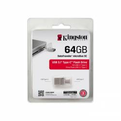 Kingston DataTraveler MicroDuo 3.1 with Type C 64GB