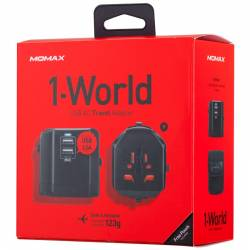 Momax 1-World USB AC Travel Adapter