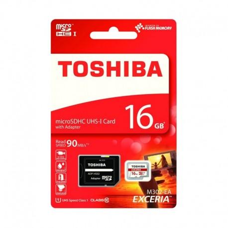 Toshiba EXCERIA™ M302 MicroSD Class10 90M 16GB