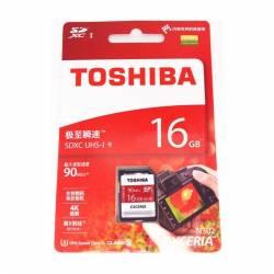 Toshiba Exceria™ N302 SD Class10 90M 16GB