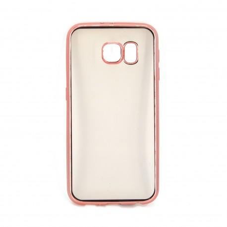 Mega 8 Samsung S6 Edge Electroplate Frame TPU Case