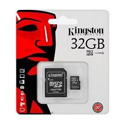 MicroSDHC Cards (SDC4/16GB)