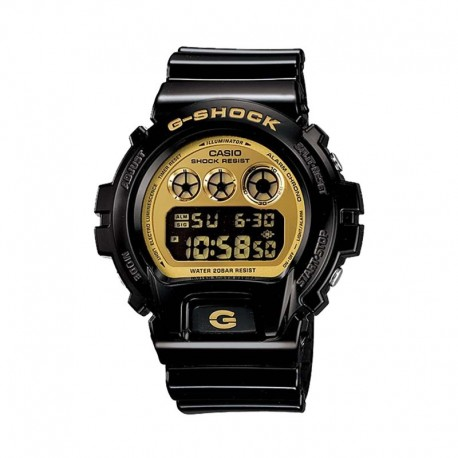 Casio G-Shock DW-6900CB-1DS 黑金色數碼手錶