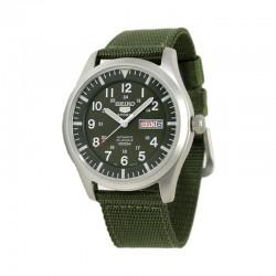 Seiko 5 號自動機械軍錶 SNZG09K1