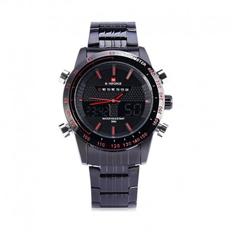 Naviforce 9024 Stainless Steel Watch