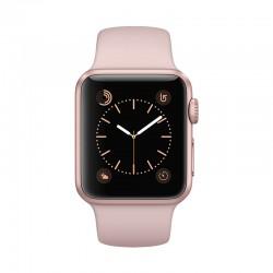 Apple Watch 玫瑰金色鋁金屬錶殼配淺粉紅色運動錶帶 智能手錶 Series 2 38mm