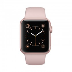Apple Watch Rose Gold Aluminum Case with Pink Sand Sport Band Series 2 38mm