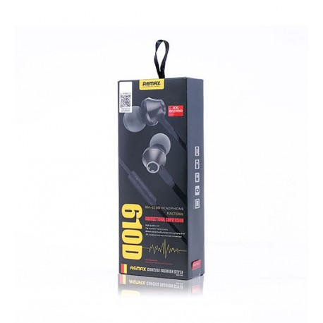 Remax RM-610D Earphone - Remax - Wired Earphone - Accessroies - OWTEL Store
