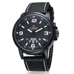 Naviforce 9028 皮帶腕錶