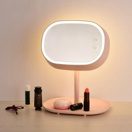 Hons LED 化妝鏡檯燈 (粉紅色)