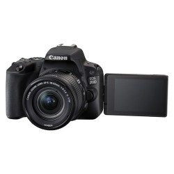 Canon EOS 200D with 18-55mm Lens Kit DSLR