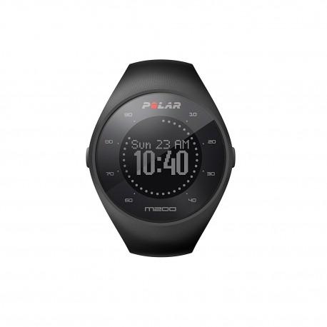 POLAR M200 GPS 光學心率跑步手錶 M/L碼 140-200MM (黑色)