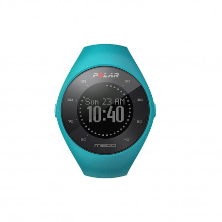 POLAR M200 GPS 光學心率跑步手錶 M/L碼 140-200MM (藍色)