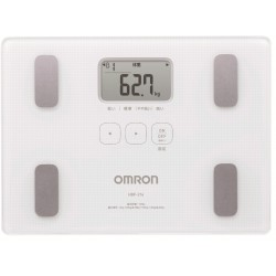OMRON 身體脂肪測量器 HBF216 (白色)