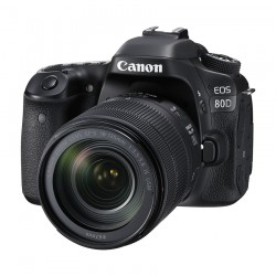 CANON EOS 80D WITH 18-135MM LENS KIT DSLR
