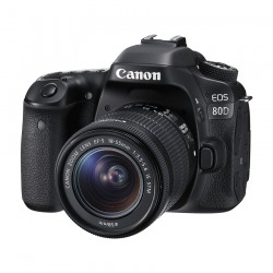 CANON EOS 80D WITH 18-55MM LENS KIT DSLR