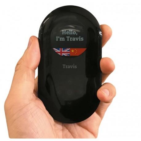 荷蘭 Travis 80 種語言AI 雙向翻譯機