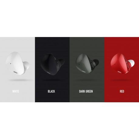 REMAX RBT21 TRUE WIRELESS BLUETOOTH EARPHONE RED - OWTEL Store