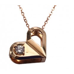 18K ROSE GOLD DIAMOND CHAIN