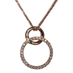 18K GOLD DIAMOND CHAIN N0241